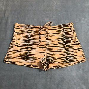 Victoria's Secret Tiger Striped Shorts!